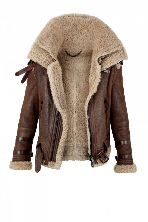 Spotted: the shearling aviator jacket | I'm here, you're there
